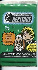 Star Wars Heritage  Factory Sealed Hobby Packet / Pack
