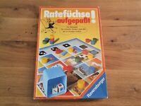 RAVENSBURGER Ratespiel RATEFÜCHSE AUFGEPASST!  1988 by Otto Maier Verlag Ravensb