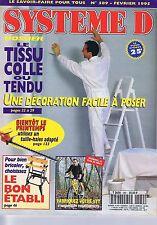 Système D n° 589 Le Tissu Collé ou Tendu -  VTT à suspensions
