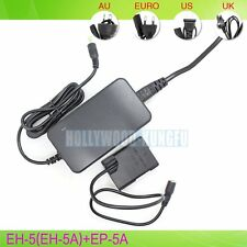 EH-5 EH-5A +EP-5A AC Power adapter For Nikon D5300 D5500 P7100 EN-EL14 EN-EL14A