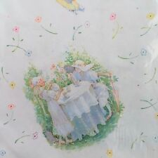 NEW Holly Hobbie Spring Bouquet Scented Gift Wrap Wrapping Paper Vintage