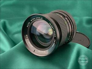 Canon FD Mount Vivitar Auto MC 28mm f2.5 Fast Wide Angle - 488
