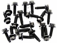 Ford Bolts- M5-.80 x 20mm Long- 8mm Hex- 12mm Washer- 20 bolts- #167