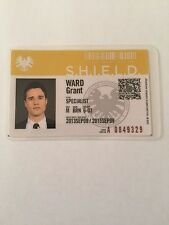 Marvel Agents Of Shield Grant Ward ID Card