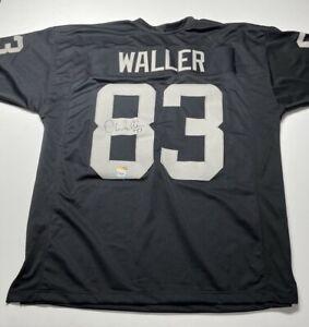 Darren Waller Signed Las Vegas Raiders Football Jersey PSA AI89925