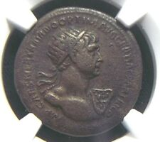 AE As of Roman Emperor Trajan, Rome issue for Antioch 98-117 AD  NGC VF  9005