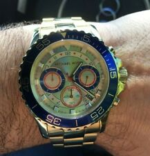 Michael Kors Men's Everest Chronograph Watch  Gold-tone MK5792
