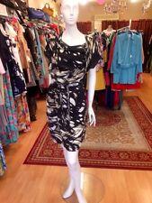 Stunning! scanlan theodore Printed Silk Sleeveless Dress, Sz M RRP $550, As New