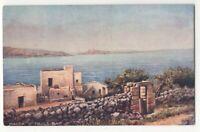 Malta St Pauls Bay 7568 Tuck Oilette Vintage Postcard 168c