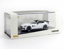 1/64 Tarmac Works Mercedes-AMG GT R (Designo Diamond) New in box, with vitrine