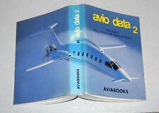 AVIO DATA 2 tascabile dell'aviazione civile in Italia AVIABOOKS 1991 Aerei
