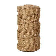 91m di corda di canapa   Colore naturale   Stringa per confezione regalo, proget