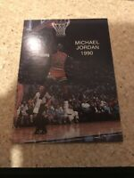 1990 MICHAEL JORDAN Rare Promo ALL-STAR #3 NMMT Chicago Bulls Last Dance Card
