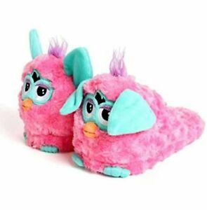 FURBY STOMPEEZ PINK SLIPPERS. Kids/Childs Size X-SMALL 7-9.. FREE UK P&P