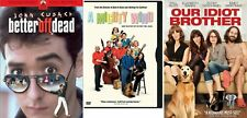 Comedy Dvd 3 Pack, Our Idiot Brother, Better Off Dead, a Mighty Wind