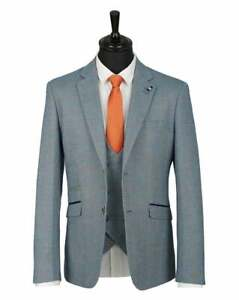 House Of Cavani 40R Del Ray Duck Egg Check Blazer ONLY Size 40R New