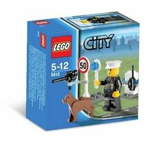 5612 POLICE OFFICER K-9 dog cop lego NEW town CITY legos set RETIRED