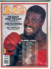 The Ring Boxing Magazine October 1984 John Mugabi EX 060616jhe