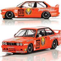 Scalextric C3899 BMW E30 M3 DTM 1988 Jagermeister Slot Car 1/32 DPR