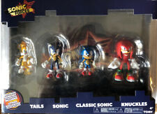 SONIC FORCES Hedgehog Action Figure 4-PACK with Exclusive Game Art Lithograph