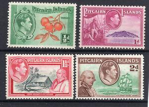 Pitcairn Islands 4 X  MLH  KGVI 1940-51 1940-51 [P2010-1]