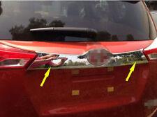 fit 2013-2015 Toyota RAV 4 RAV4 Chrome Rear Door Trunk Molding Lid Cover Trim