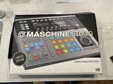 Native Instruments Maschine Studio Limited Silver With New Authorizations