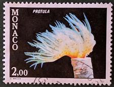 Stamp Monaco 1980 2Fr Marine Life Used