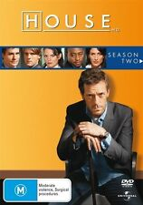 House - Season 2 (DVD, 6 Disc Set) NEW R4 Series