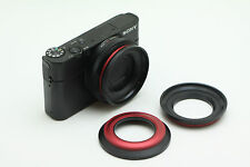 PNC 58 mm MagFilter Threaded Adapter Ring, Carrying Pouch: Sony RX100 HX9V HX20V