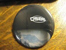 OSBE Helmet Snow Ski Winter Skier Sports Logo Advertisement Lapel Button Pin