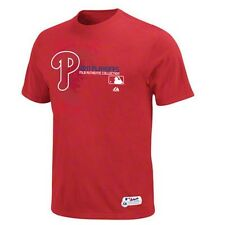 Philadelphia Phillies Majestic new with tags MLB 2011 Playoffs t-shirt NWT Phils