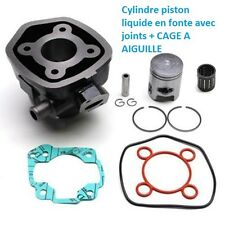 CYLINDRE LIQUIDE  FONTE PISTON CAGE A AIGUILLE MBK YAMAHA 50 AEROX NITRO MACH-G