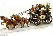 HOLIDAY COACH #55611 DEPT 56 RETIRED DICKENS VILLAGE  great accessory!