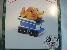 1998 Hallmark Pluto'S Coal Car Merry Miniatures Mickey Mouse Express Train