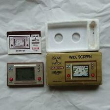 Nintendo Game&Watch with box, manual and  Parachute PR-21 WIDE SCREEN 1981 LSI