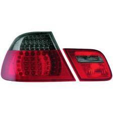 Coppia 4 pz. fari fanali posteriori TUNING BMW Serie 3 E46 99-03 COUPE LED fumè