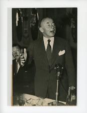 Portrait de Monsieur Paul REYNAUD (Premier Ministre Français) devant Association