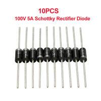10xSR5100 =SB5100=SB5B0=SR5010=SR510 Schottky Barriera Raddrizzatore Diodo 100V