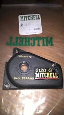 MITCHELL 2120G MODELS GRAPHITE SIDE COVER PLATE. MITCHELL PART REFERENCE# 84605.