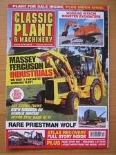 Classic Plant & Machinery February 2014 Priestman Wolf Hitachi Excavators Massey