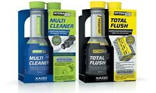 XADO AtomEX GASOLINE Fuel System Cleaner & Xado TotalFlush Engine Cleaner USA SH