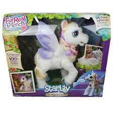 Hasbro FurReal Friends StarLily My Magical Unicorn Poseable Interactive Plush