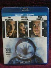 Life (Sci-Fi Horror Blu-ray) Ryan Reynolds, Jake Gyllenhaal & Rebecca Ferguson