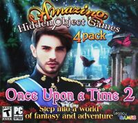 Once Upon A Time 2 PC Games Windows 10 8 7 Computer hidden object game 4 Pack ev