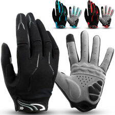 Bike Glove Full Finger Gym Cycling Gloves Touch Screen Breathable Windproof