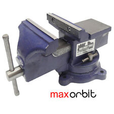 6 Inch Heavy Duty Bench Vice Grip Clamp Capacity 150mm Swivel Base