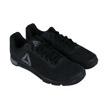 Reebok скорость Tr flexweave мужские черные спортивные тренажерный зал крест тренировочные кроссовки
