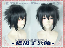 Final Fantasy XV 15 Noctis Lucis Caelum Short Cosplay Costume Wig Hair Wig+Track