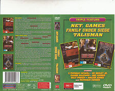 Net Games-2003-C.Thomas Howell/Family Under Siege/Talisman-3 Movie-DVD